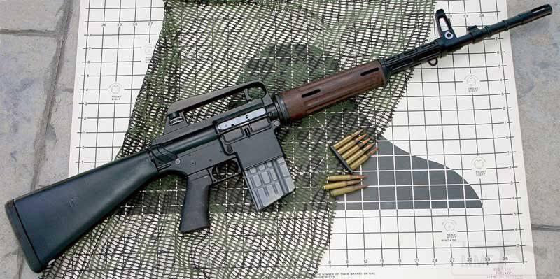 3950 - Семейство Armalite / Colt AR-15 / M16 M16A1 M16A2 M16A3 M16A4