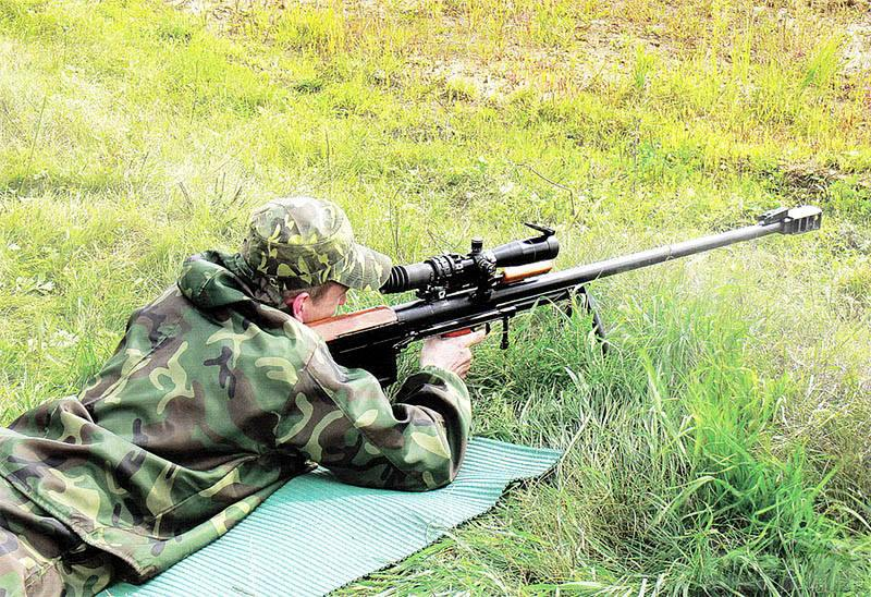 39521 - Крупнокалиберные снайперские винтовки