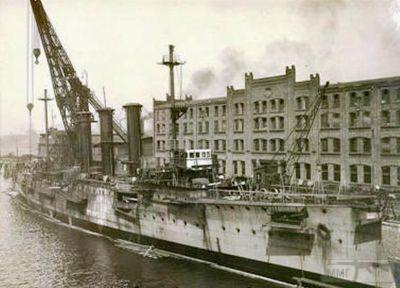 39949 - Крейсеры в период ПМВ.
