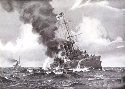 39954 - Крейсеры в период ПМВ.
