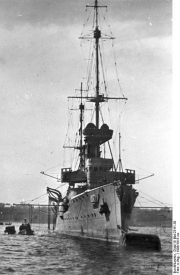 39955 - Крейсеры в период ПМВ.