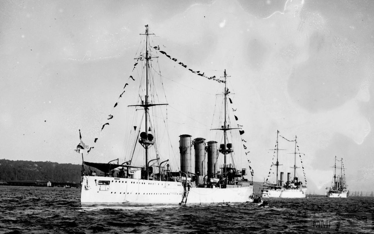 39963 - Крейсеры в период ПМВ.