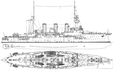 39967 - Крейсеры в период ПМВ.