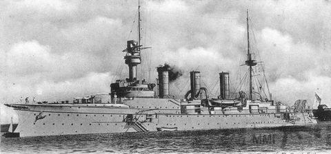 39969 - Крейсеры в период ПМВ.