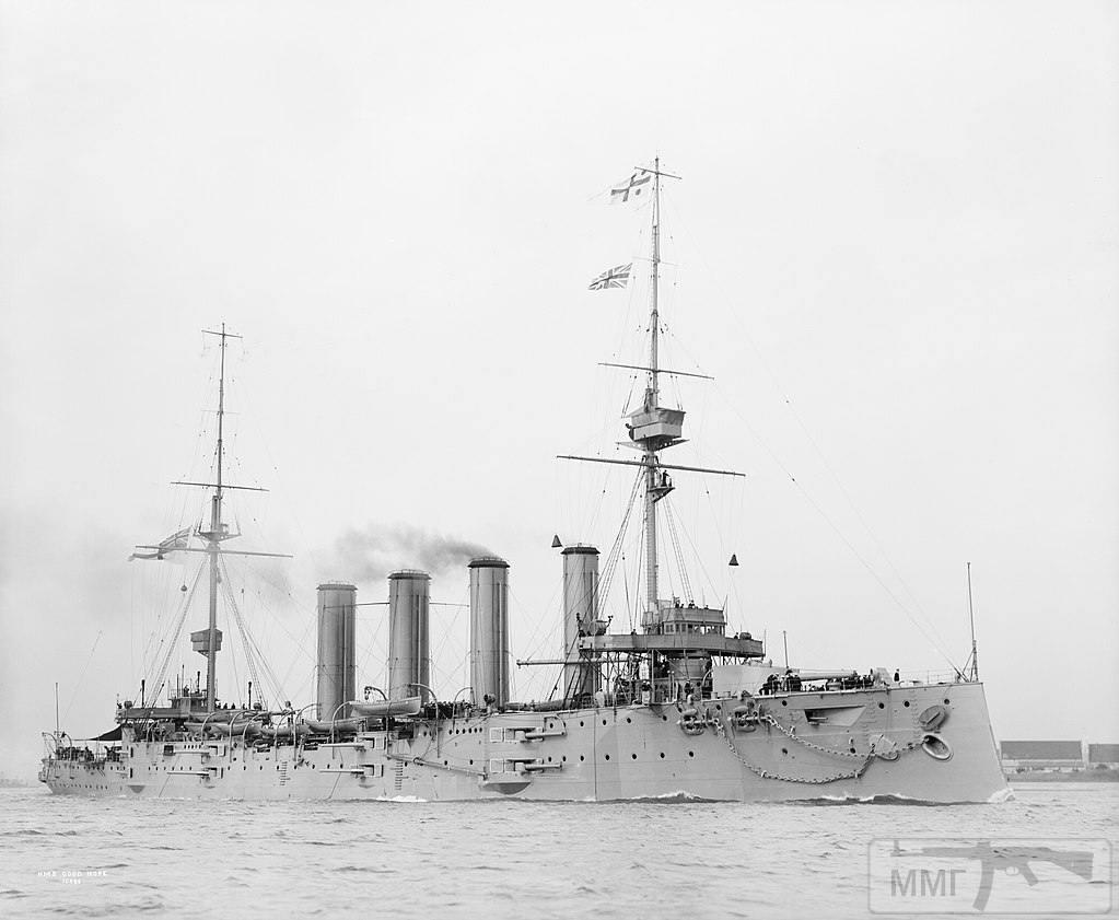 39977 - Крейсеры в период ПМВ.