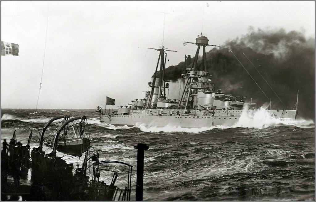 4008 - Italian battleship Giulio Cesare до модернизации