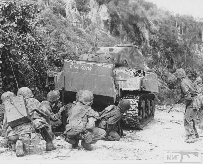 40151 - Военное фото 1941-1945 г.г. Тихий океан.