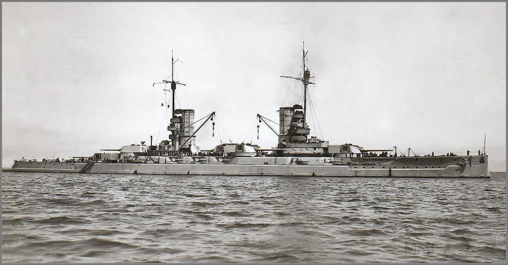 4018 - Kaiser class German battleship SMS König Albert