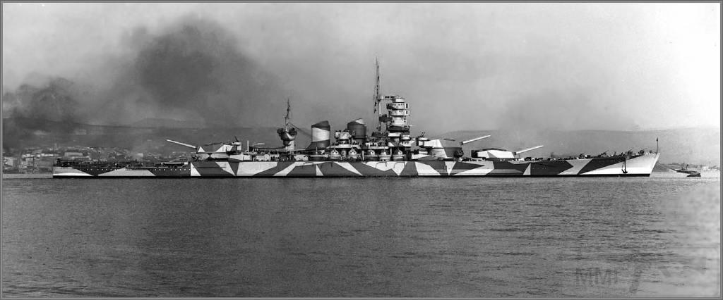 4046 - Italian battleship Roma circa 1942-1943
