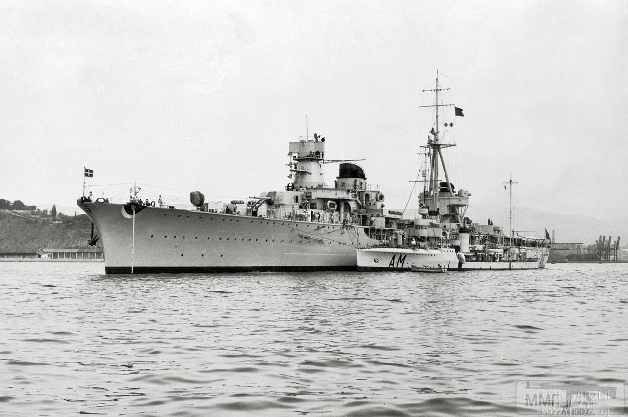 40584 - Легкий крейсер Muzio Attendolo