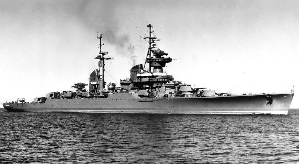 4075 - Советский легкий крейсер проекта 68-бис Свердлов, 1947-1989