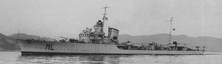 4077 - Italian destroyer Maestrale-class