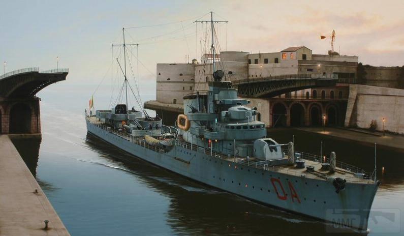 4078 - Italian destroyer Maestrale-class