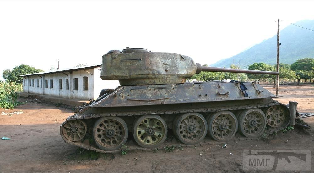 40819 - Послевоенное использование советской бронетехники WW2