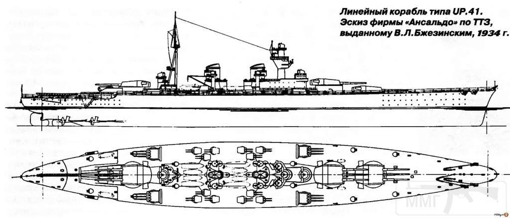 4083 - Regia Marina - Italian Battleships Littorio Class и другие...