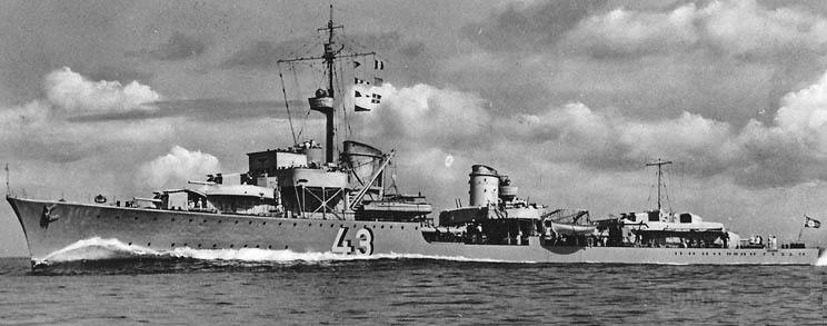 4098 - German destroyer Z21 Wilhelm Heidkamp