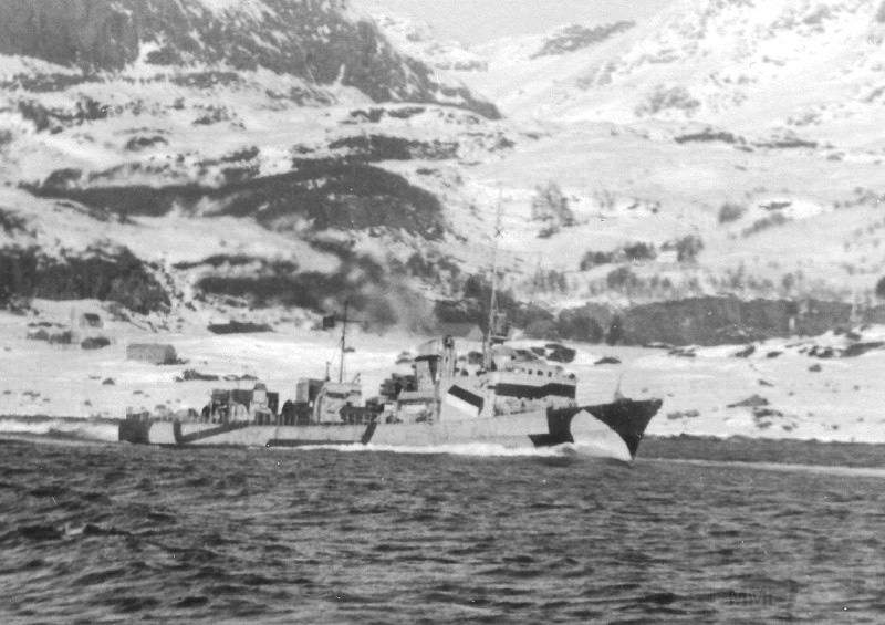 4111 - German torpedoboat T5 (1935 type) in Norway