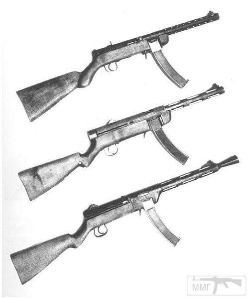 41364 - Редкие пистолет-пулемёты.