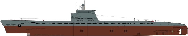 4186 - Подводная лодка проекта 611 (построено 26 ед.)