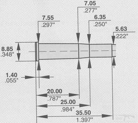 4191 - Патрон 5,6х35R Черт:еж