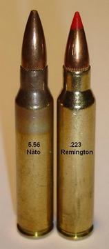 4198 - Сравнение 5,56х45 NATO и .223 Rem.