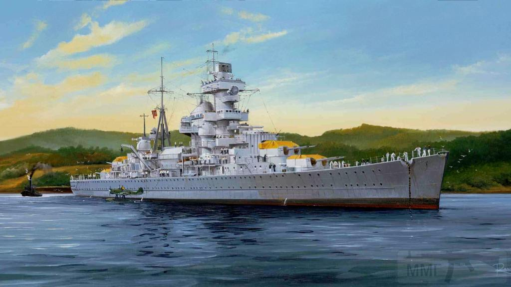 4222 - German cruiser Prinz Eugen