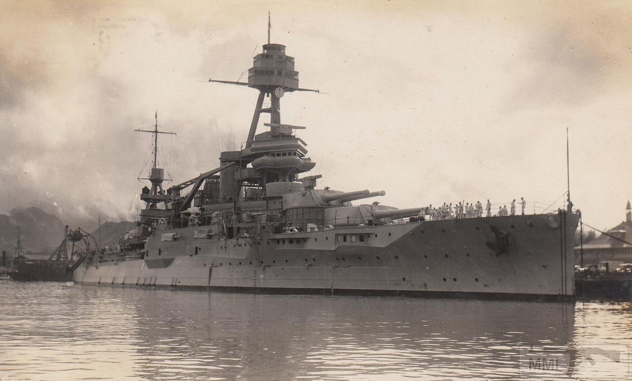 42401 - USS Texas (BB-35) в Гонолулу, 1930 г.