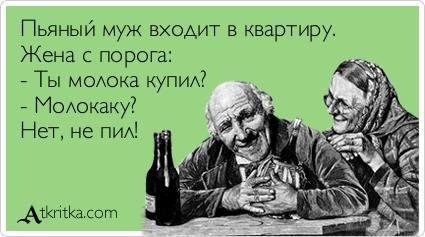 42793 - Пить или не пить? - пятничная алкогольная тема )))