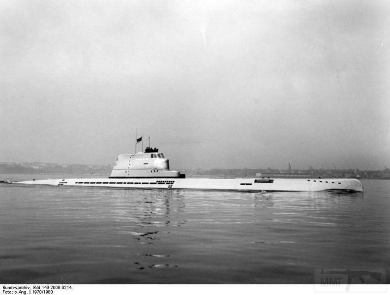 4297 - The Wilhelm Bauer the former U-2540 in 1960
