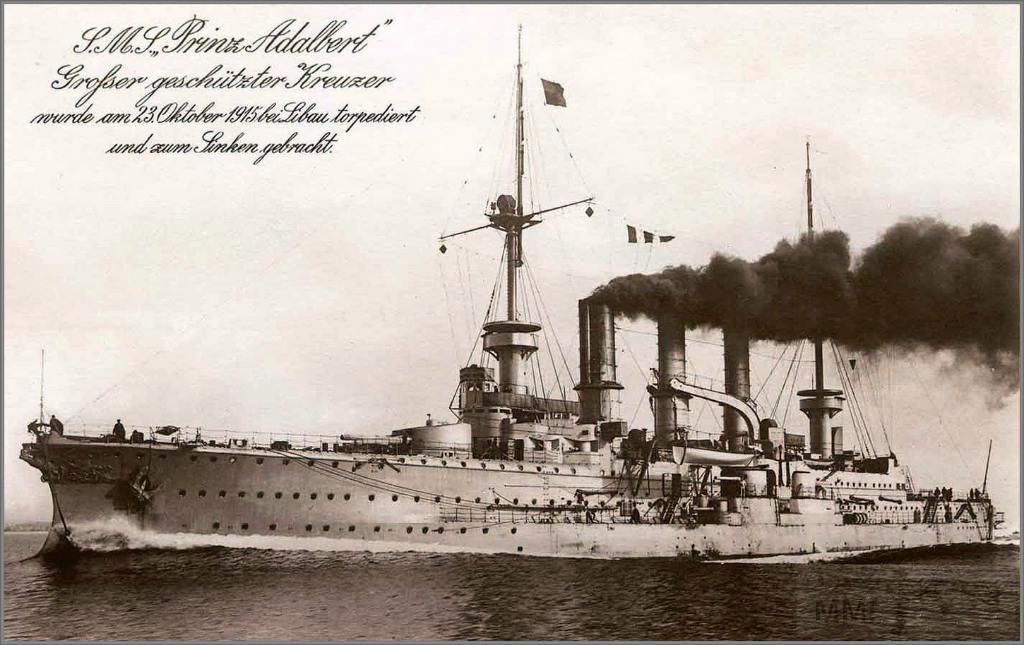 4331 - Armoured cruiser SMS Prinz Adalbert