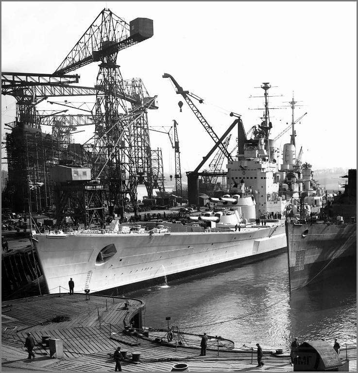 4332 - HMS Vanguard in 1946