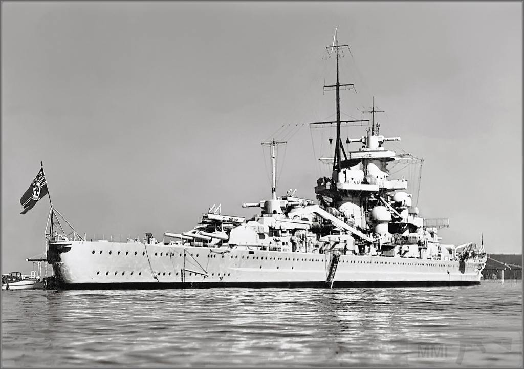 4335 - German battlecruiser Gneisenau
