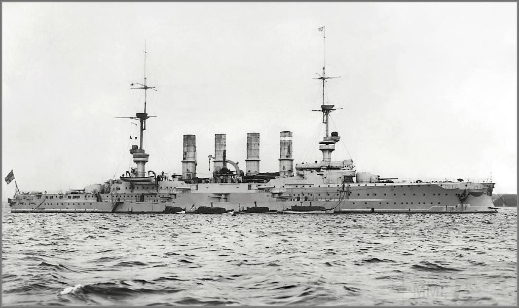4338 - German armoured cruiser SMS Scharnhorst
