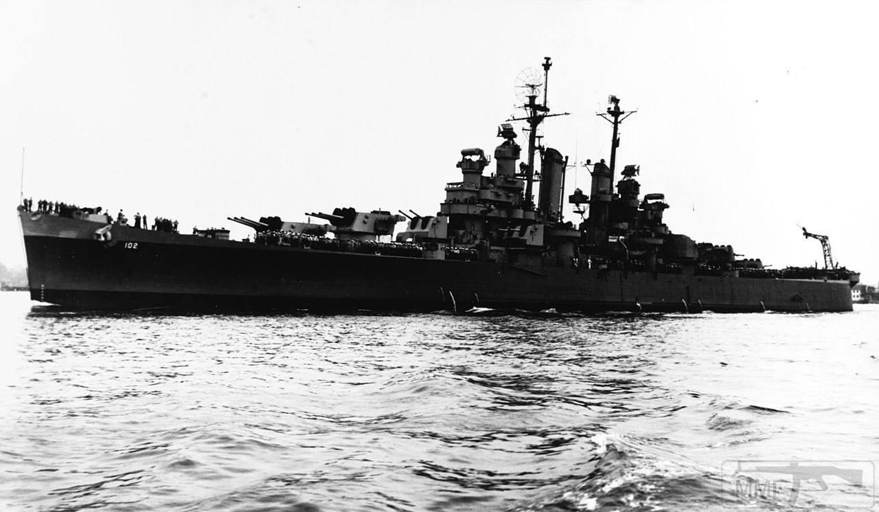 43852 - USS Portsmouth (CL-102)