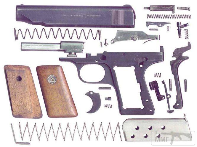 43909 - Пистолет Ортгис (Ortgies pistol).