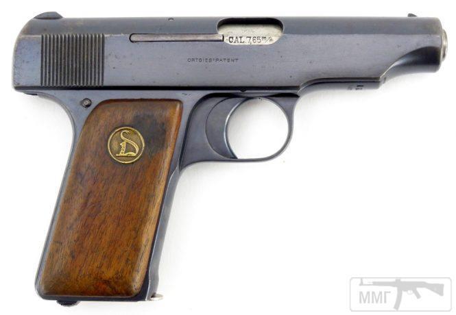 43915 - Пистолет Ортгис (Ortgies pistol).