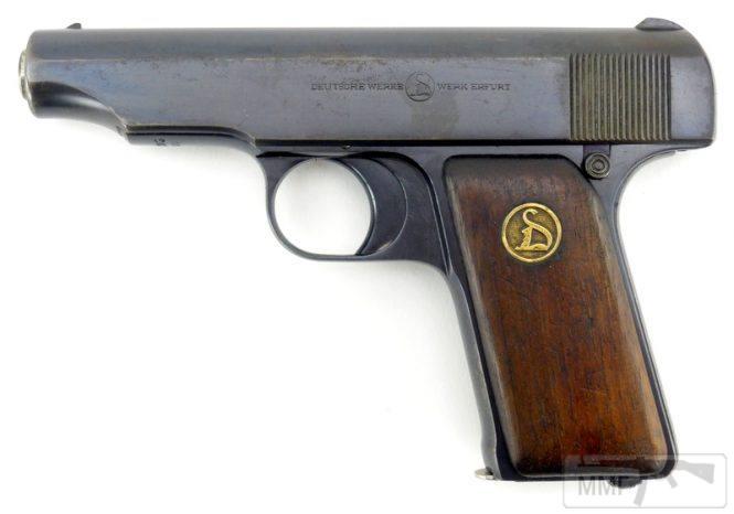 43916 - Пистолет Ортгис (Ortgies pistol).