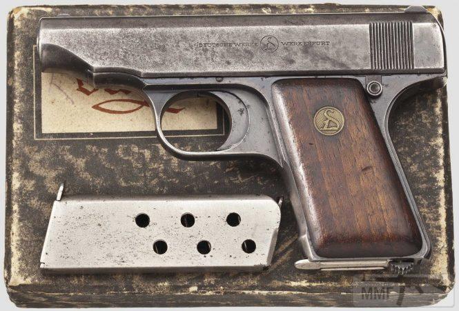 43922 - Пистолет Ортгис (Ortgies pistol).
