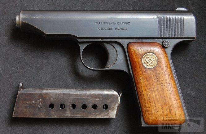 43926 - Пистолет Ортгис (Ortgies pistol).