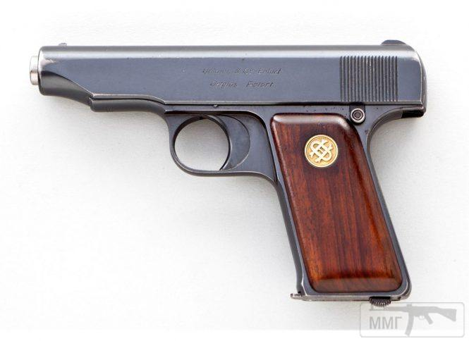 43927 - Пистолет Ортгис (Ortgies pistol).