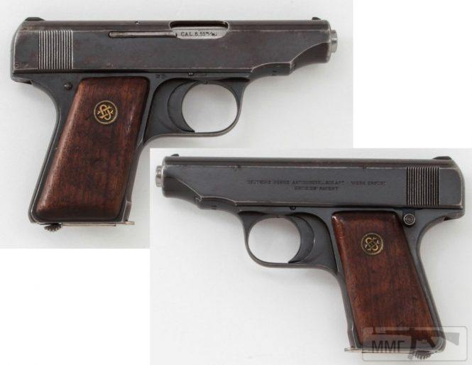 43936 - Пистолет Ортгис (Ortgies pistol).