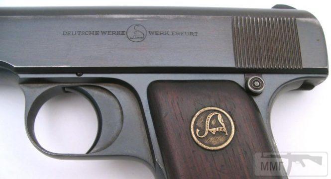 43945 - Пистолет Ортгис (Ortgies pistol).
