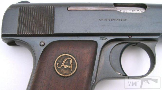 43946 - Пистолет Ортгис (Ortgies pistol).