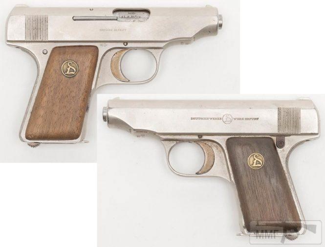 43950 - Пистолет Ортгис (Ortgies pistol).