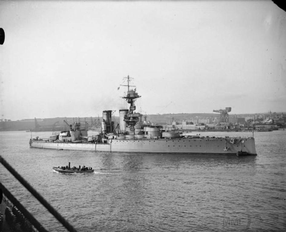 4398 - HMS Centurion, 1918