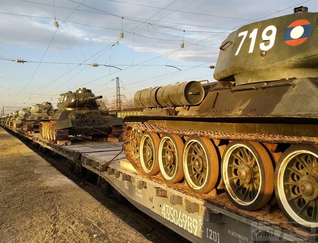 44021 - Послевоенное использование советской бронетехники WW2