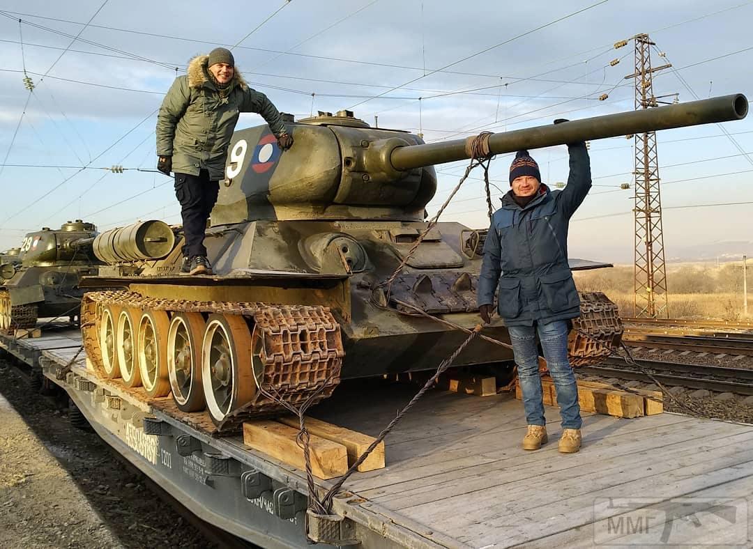 44022 - Послевоенное использование советской бронетехники WW2