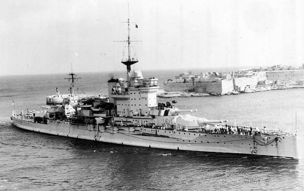 4406 - HMS Warspite