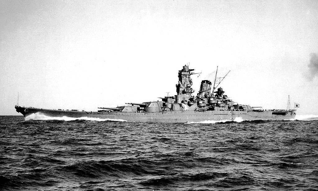 4414 - IJN Yamato (яп. 大和, рус. «Ямато»)