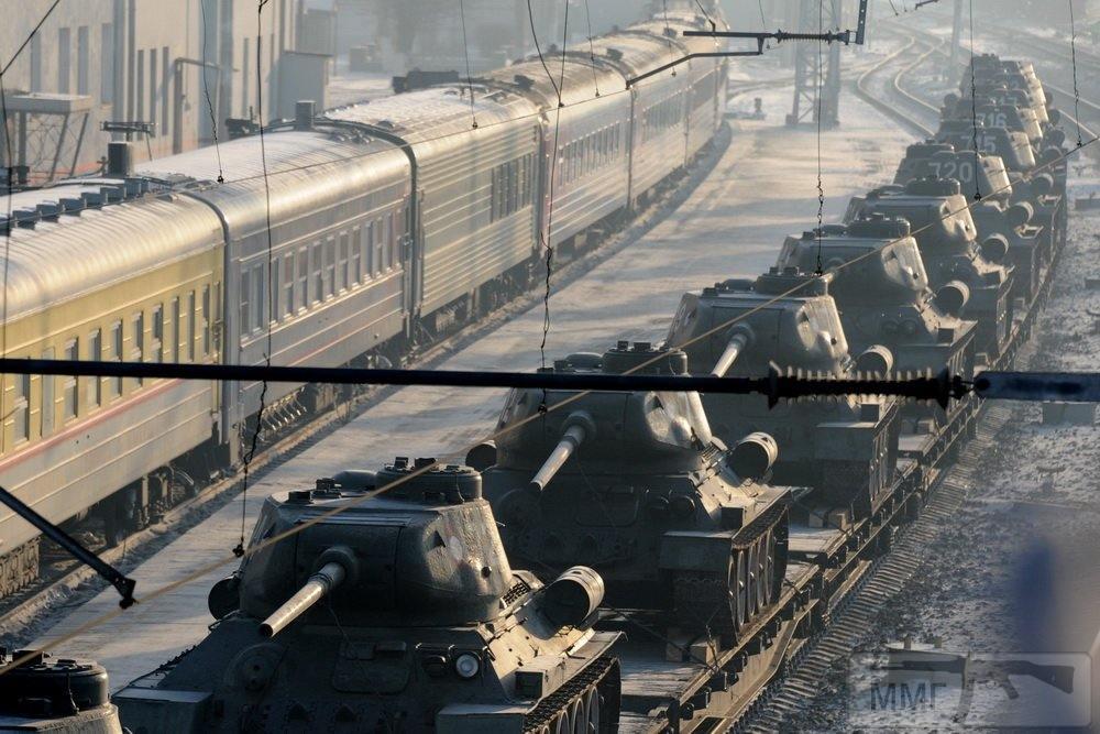 44160 - Послевоенное использование советской бронетехники WW2